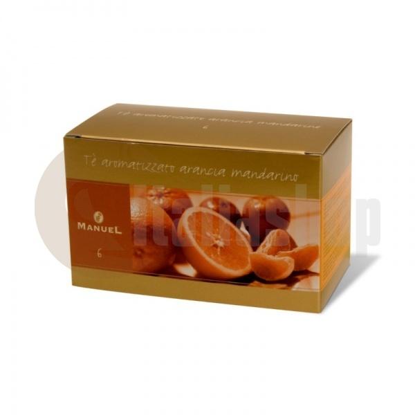 Manuel Чай с вкус на портокал и мандарина в сашета 6