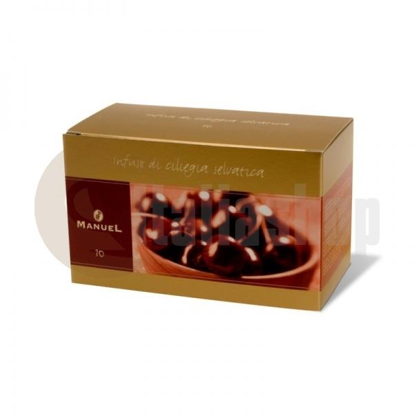 Manuel Чай с вкус на череши в сашета 10