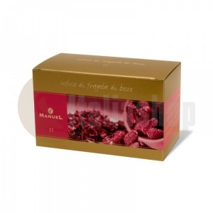 Manuel Чай с вкус на горски ягоди в сашета 11