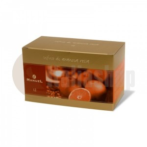 Manuel чай с вкус на червен портокал в сашета 12