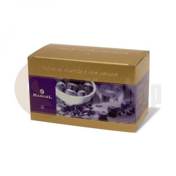 Manuel Чай с вкус на френско грозде и шипки в сашета 16