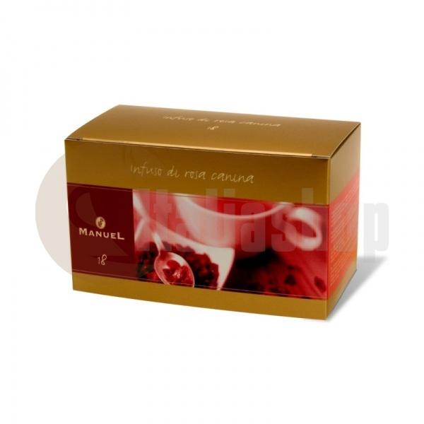 Manuel Чай с вкус на шипки в сашета 18