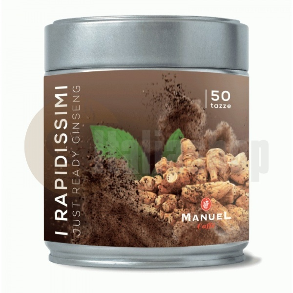 Manuel Rapidissimi инстантна напитка с женшен 250 гр