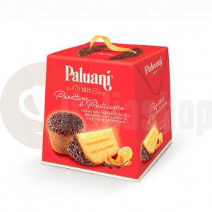 Paluani Сицилиански Козунак С Портокалов Крем, Поръсен С Шоколадови Стърготини 750 Гр