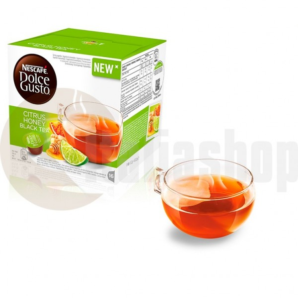 Dolce Gusto Citrus Honey Black Tea 16 Бр..