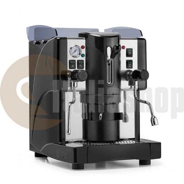 Caffè D'italia Elit  италианска кафе машина + Caffè D'italia 500 Бр. + Caffè D'italia 30 Бр. Микс Продукти + 1 Пепелник, 1 Захарничка , 1 Каничка За Мляко + 2 Порцеланови Чаши