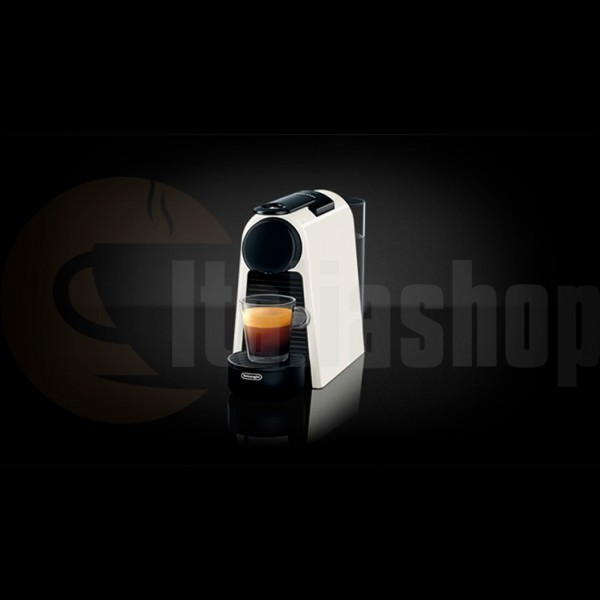Nespresso Essenza Mini Bianca Delonghi +10 бр съвместими капсули LOR + 10 бр съвместими капсули BIALETTI + 10 бр съвместими капсули ILLY
