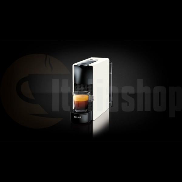 Nespresso Essenza Mini Bianca Krups +10 бр съвместими капсули LOR + 10 бр съвместими капсули BIALETTI + 10 бр съвместими капсули ILLY
